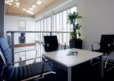 Altair Louvres in office buildings help increase ventilation and productivity