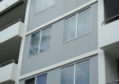Altair Louvres seal tight so air conditioners can work more efficiently