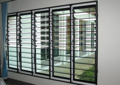 Altair Louvres provide natural fresh air