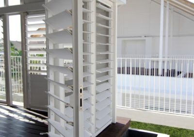 Altair Louvres provide privacy and ventilation